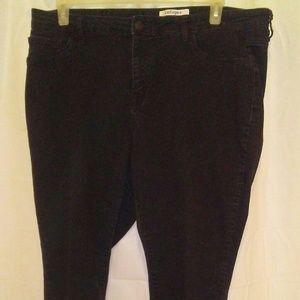 Refuge black skinny jeans